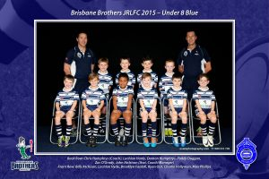 Brisbane Brothers JRLFC 2015 Under 8s Blue