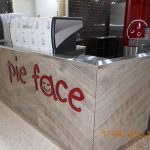 retail fit out Pie Face T3 Sydney Airport